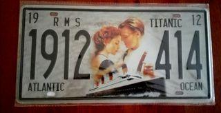 Cartel decoración película Titanic.