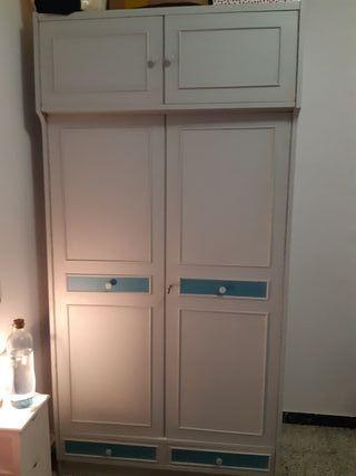 armario ropero 2 puertas