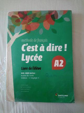 Libro Francés 1 °Bachiller.