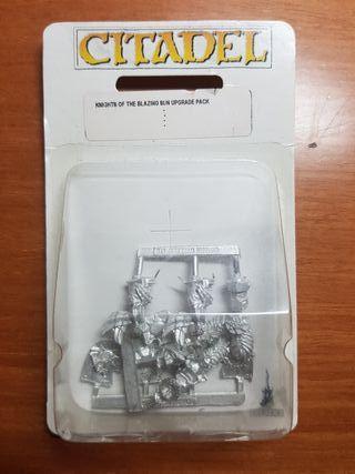 Warhammer Kit de caballeros del sol llameante