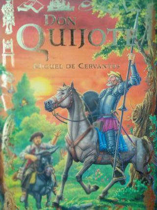 Libro Don Quijote.