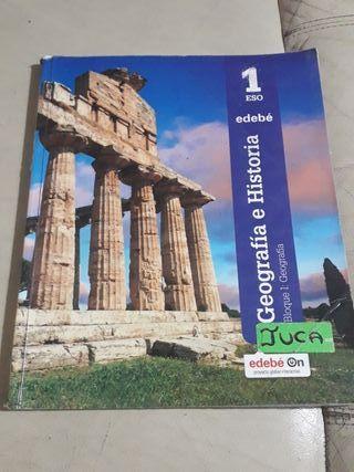 libro de geografía e historia de 1ero de eso