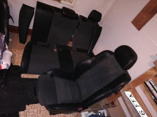 asientos cuero y tela bmw pack M