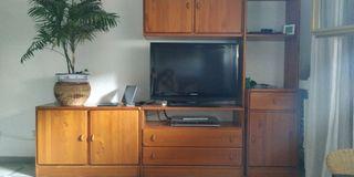 Mueble modular pino TV