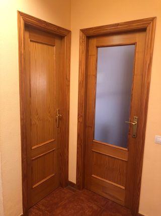 Puertas de madera completas