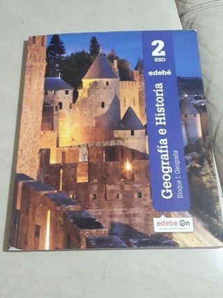 libro de geografía e historia de 2do de eso