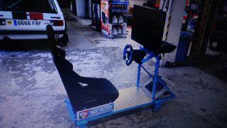 simulador conduccion rally volante ps3