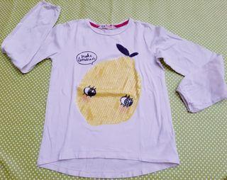 Camiseta niña. Talla 8-10. H&M