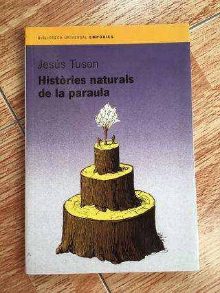 Libro Històries Naturals de la paraula