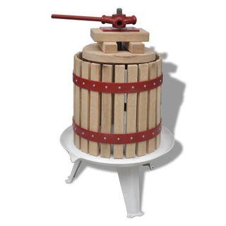 Prensa de vino y fruta 12 L