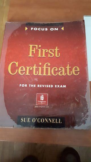 Libro de ingles First Certificate