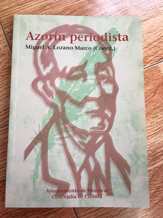 Libro Azorín Periodista