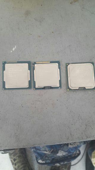 procesadores Intel en perfecto funcionamiento