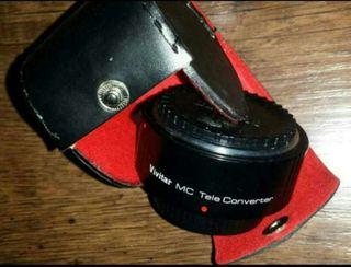 Duplicador zoom objetivo cámara reflex ( Más de 80 artículos en mi perfil
