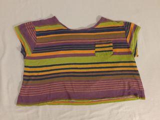 Camiseta manga corta Zara, talla M/38