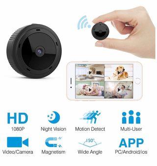 Cámara espía con vision nocturna 1080P HD