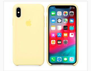 Funda Apple iPhone X o XS amarilla