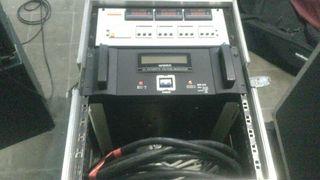Estabilizador y central de corriente