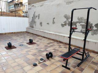 Estación multifuncional entrenamiento