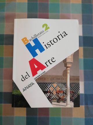 Libro Historia del Arte Bachillerato 2 Anaya