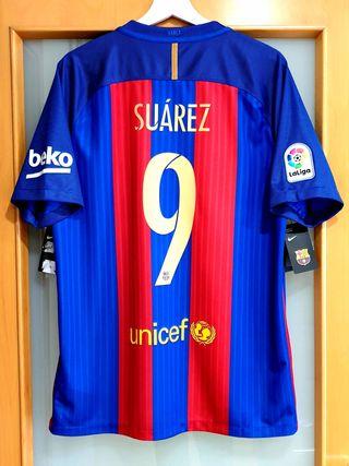 GANGA. FC Barcelona 2016/17. L. SUAREZ. NUEVA