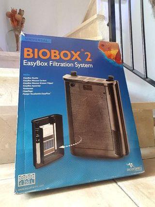 filtro acuario biobox 2