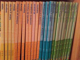 Enciclopedia juvenil (libros i DVD)