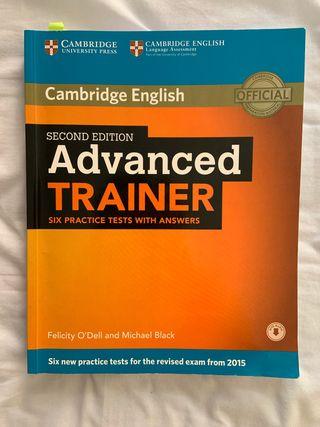 Libro Cambridge Advanced Trainer