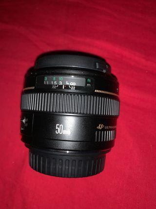 Objetivo Canon EF 50 mm F/1,4 USM para Canon EOS