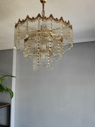 lampara salon retro mediana