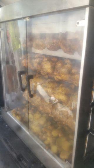 maquina de pollos alast