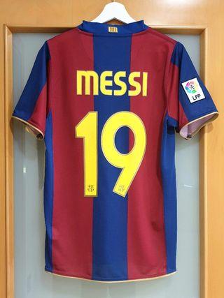FC Barcelona 2007/08. S. MESSI. CONMEMORATIVA