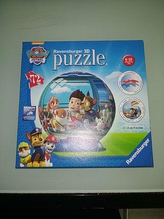 Puzzle 3D Patrulla canina