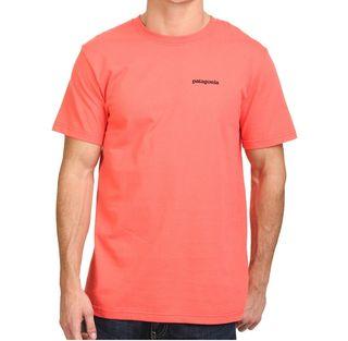 Camiseta Patagonia P-6 logo Coral.