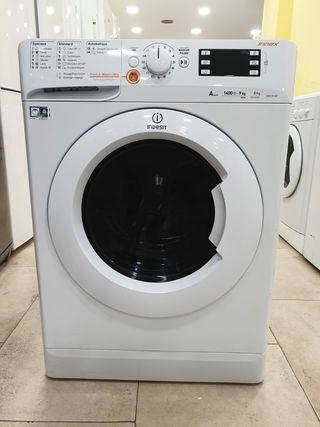 lavadora con secadora Indesit 9/6kg con transporte