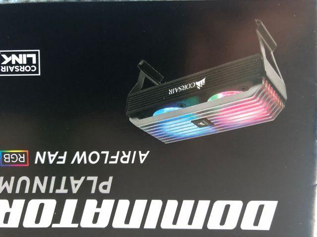 Ventilador Ram Corsair RGB AirFlow Fan