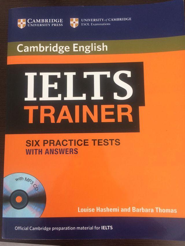 Libro ingles. IELTS trainer. Cambrige
