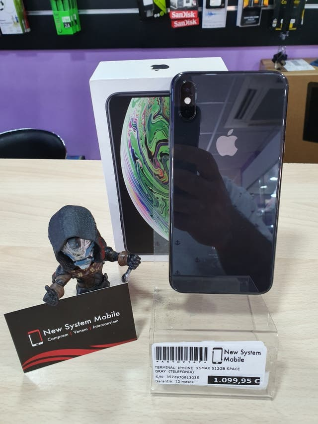 IPHONE XS MAX 512GB SPACE GRAY IMPECABLE