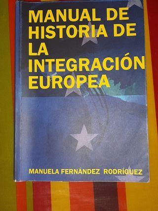Manual de historia de la integración europea