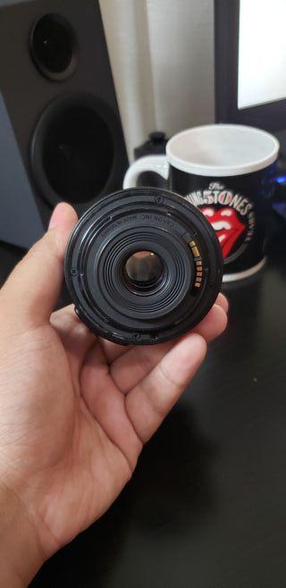 Objetivo Canon 18-55mm EFS IS con filtro UV