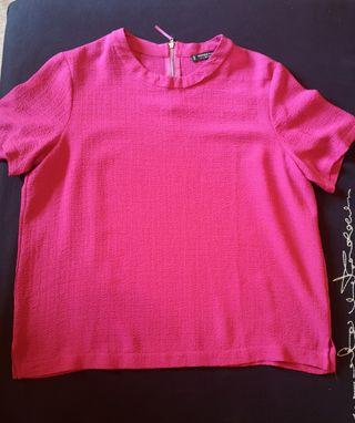 Camiseta mujer Mango Basics