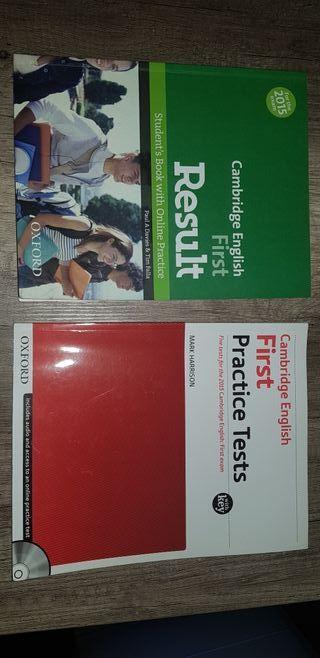 libros inglés práctica First
