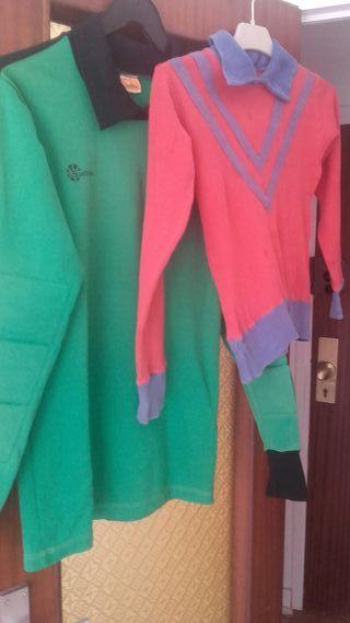 Camisetas portero años '60 y '70