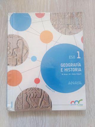 Geografía e Historia 1 ESO Anaya
