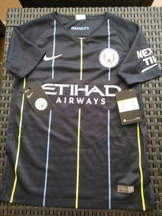 Camiseta de Sané, de Manchester City, auténtica