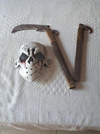 Máscara disfraz