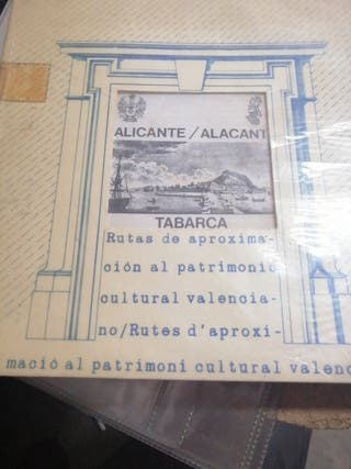Libro rutas Alicante Tabarca