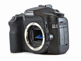 Canon EOS 40D + 18-55mm