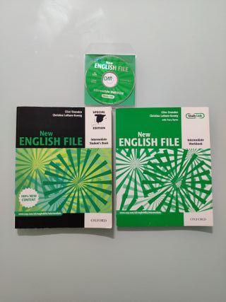 """Libros de inglés """"New English File"""""""