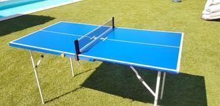 Mesa Ping Pong - 140cm x 73cm. Decathlon